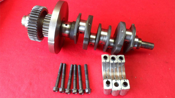 Honda GL1000 GL 1000 Goldwing Engine Crankshaft Crank Shaft 3918