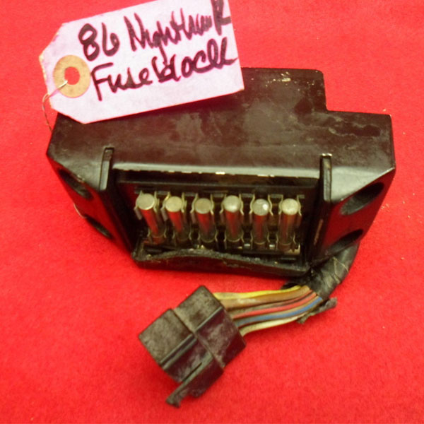 title: honda nighthawk 700s cb700sc night hawk oem fuse box fusebox 5065  ripperpowersports, used motorcycle parts, aftermarket motorcycle,  streetbike,