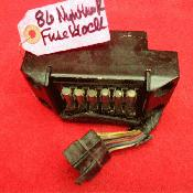 Honda Nighthawk 700S CB700sc Night hawk OEM fuse box fusebox 5065