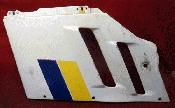 88 89 Suzuki GSXR 750 Left Side OEM Fairing Cowl Plastic Panel A383