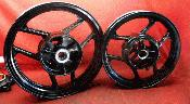 87 88 89 90 Kawasaki ZX750F ZX750 ZX7 F Front Rear Wheels Rims Powder Coated A344